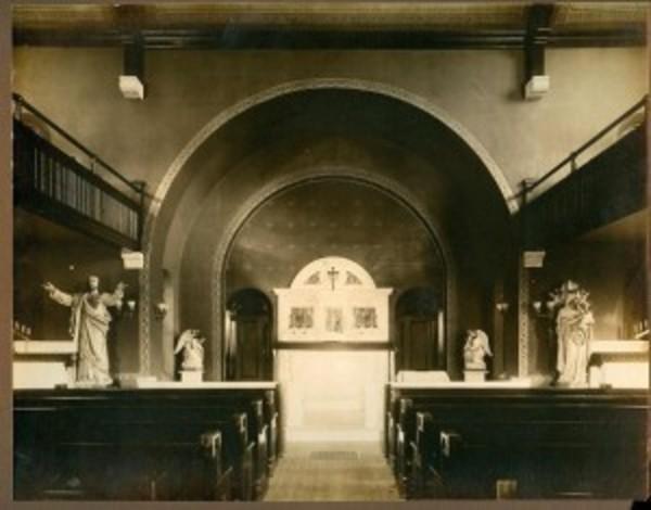 St Elizabeth Original Altar