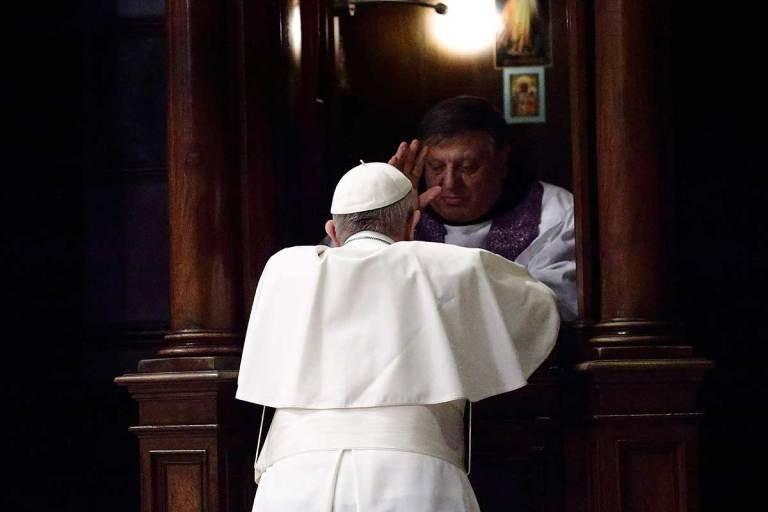Pope Lent Confession