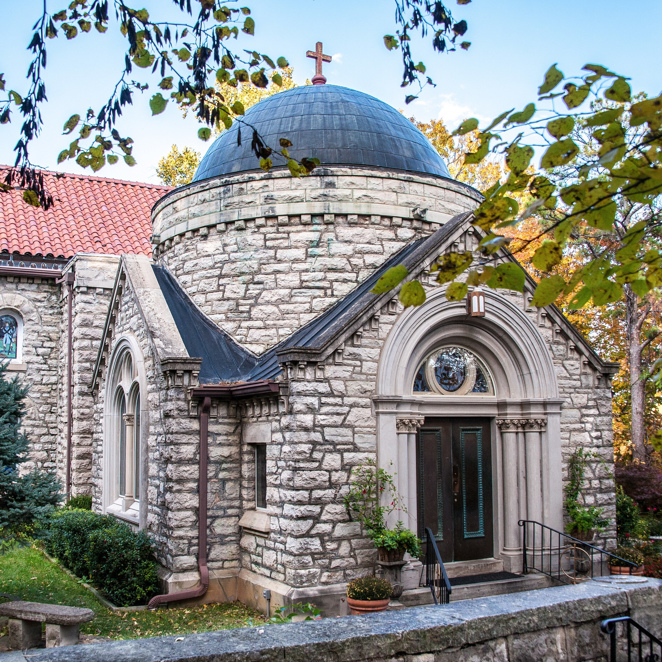 Church Outside Dome