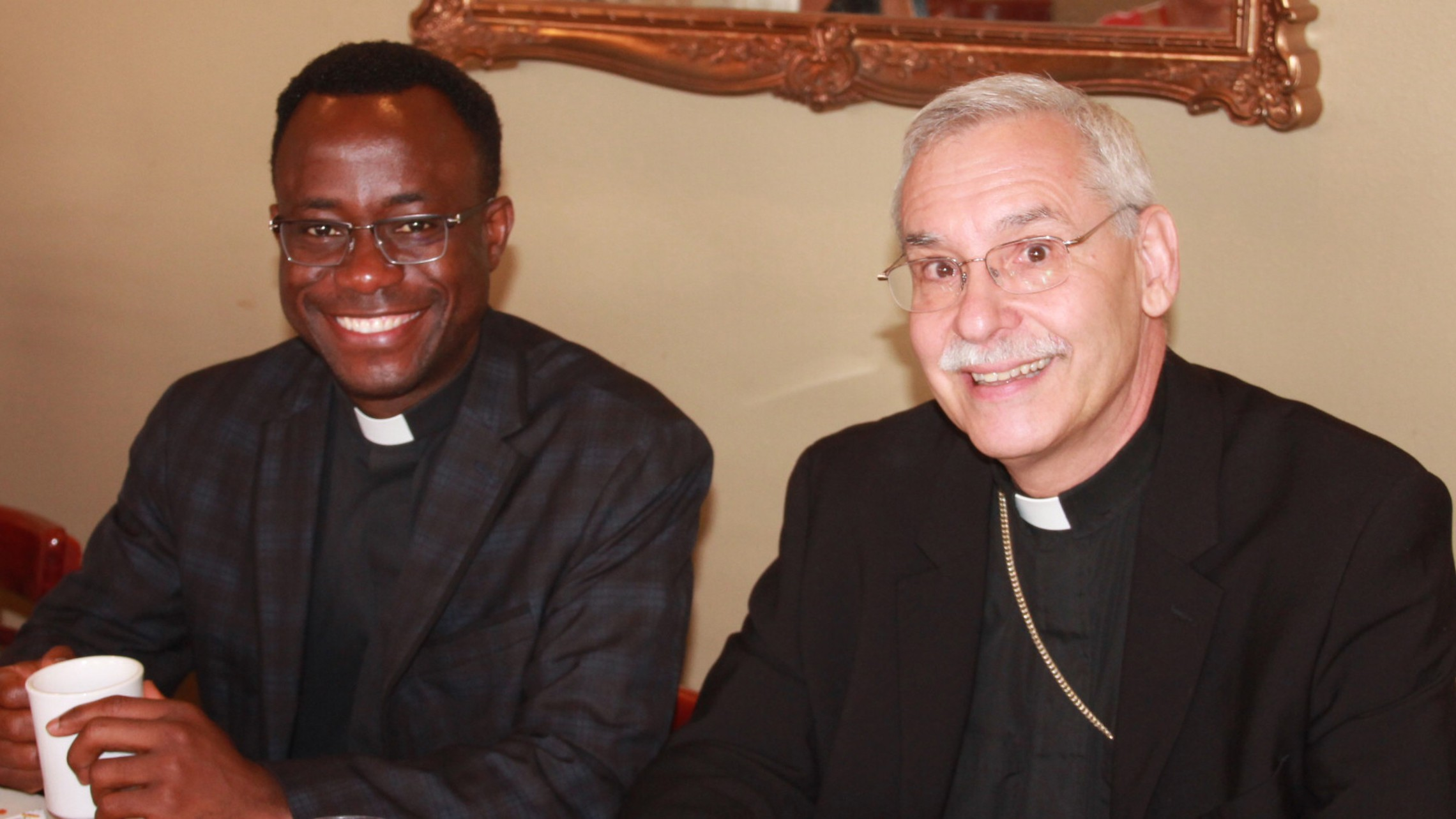 Father Joseph and Bishop Taylor
