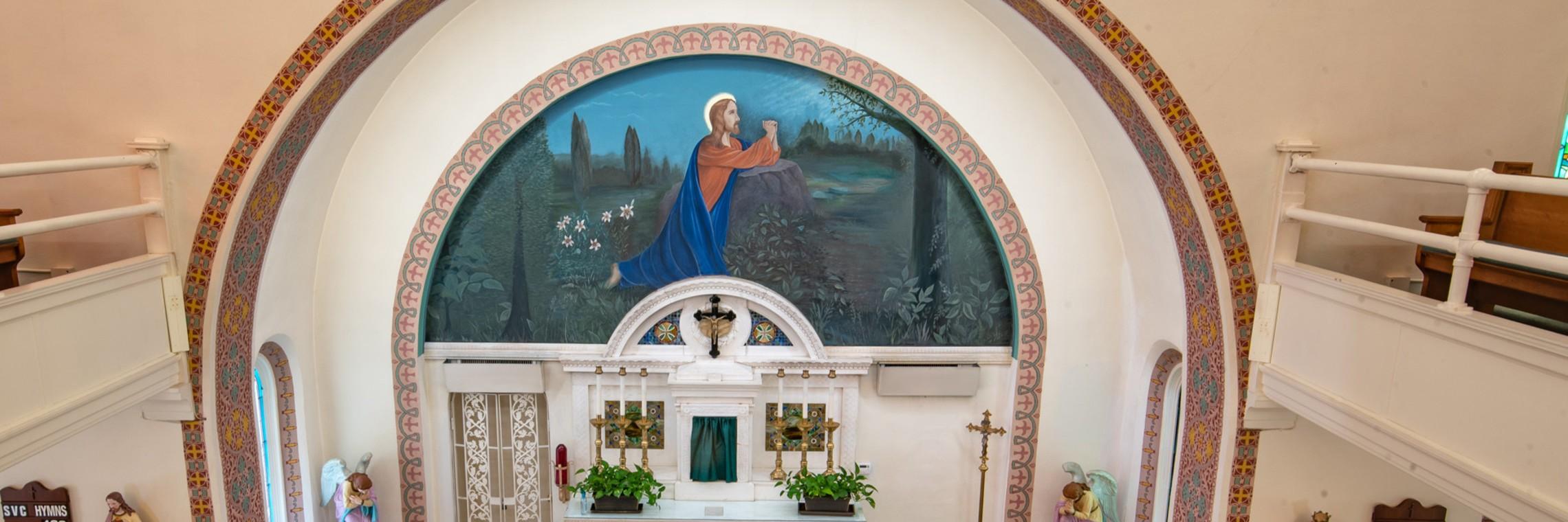 Church Altar 1920 X 1080